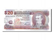 Barbades, 20 Dollars type S. J. Prescod