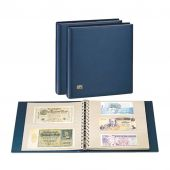 Album, Favorite, Banknotes, Blue, with 10 pages, Safe:7351