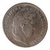 Louis Philippe Ist, 5 Francs Laureate Head