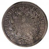 Monnaies Semi Modernes 1805 1899 5 Francs Gadoury 745a Comptoir