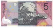 Australie, 5 Dollars type 2001