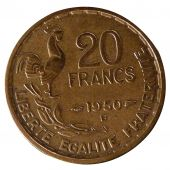 Fourth Republic,  20 Francs Georges Guiraud