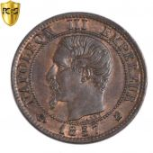 Second Empire, 1 Centime Napoléon 1857 K, PCGS MS62BN