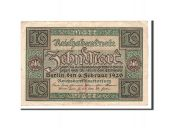 Germany, 10 Mark, 1920, KM:67a, 1920-02-06, EF(40-45)