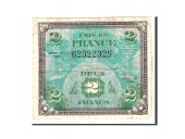 Billet, France, 2 Francs, 1944, Undated, TB, KM:114a
