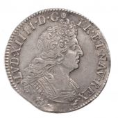 Louis XIV, ¼ Ecu aux 8L 2nd Type