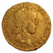 Louis XIV, Louis d'or � la m�che longue