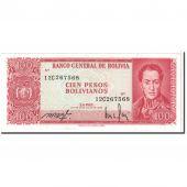 Bolivia, 100 Pesos Bolivianos, 1983, KM:164A, UNC(65-70)