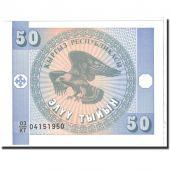 KYRGYZSTAN, 50 Tyiyn, 1993, KM:3, NEUF