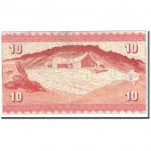 Faeroe Islands, 10 Kronur, 1954, KM:14c, TTB
