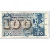 Suisse, 100 Franken, 1965, KM:49g, 1965-01-21, TTB