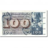 Switzerland, 100 Franken, 1972, KM:49n, 1972-01-24, AU(55-58)