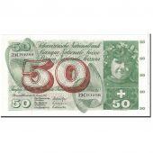 Suisse, 50 Franken, 1972, KM:48l, 1972-01-24, SUP+
