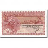 Surinam, 2 1/2 Gulden, 1967, 1967-07-02, KM:117b, UNC(65-70)