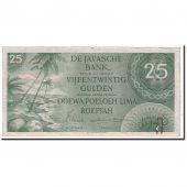 Netherlands Indies, 25 Gulden, 1946, KM:91, VF(30-35)