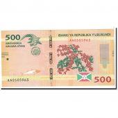 Burundi, 500 Francs, 2015, 2015.01.15, KM:New, NEUF