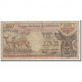 Rwanda, 500 Francs, 1978, 1978-01-01, KM:13a, TB