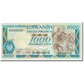 Rwanda, 1000 Francs, 1988, 1988-01-01, KM:21a, NEUF
