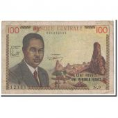 Cameroon, 100 Francs, 1962, KM:10a, VF(20-25)