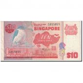 Singapour, 10 Dollars, 1979, KM:11a, SUP