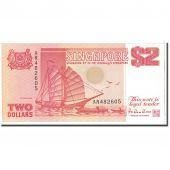 Singapour, 2 Dollars, 1990, KM:27, NEUF