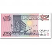 Singapour, 2 Dollars, 1997, KM:34, NEUF