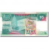 Singapour, 5 Dollars, 1997, KM:35, NEUF