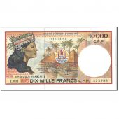 French Pacific Territories, 10,000 Francs, 1995, KM:4b, SUP