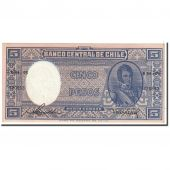 Billet, Chile, 5 Pesos = 1/2 Condor, 1958, Undated, KM:119, SPL