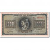 Greece, 1000 Drachmai, 1942, 1942-08-21, KM:118a, UNC(65-70)