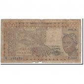West African States, 1000 Francs, 1981, KM:707Kb, B