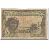 West African States, 500 Francs, 1959, KM:102Al, TB