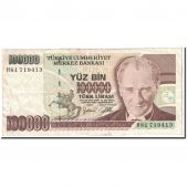 Turquie, 100,000 Lira, 1997, KM:206, TTB