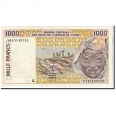 West African States, 1000 Francs, 1991, KM:711Ka, SUP
