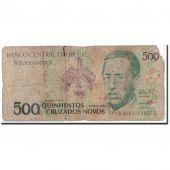 Brésil, 500 Cruzados Novos, 1990, KM:222a, B