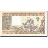 West African States, 1000 Francs, 1987, KM:807Th, SUP+