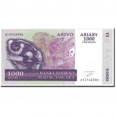 Banknote, Madagascar, 1000 Ariary, 2004, Undated, KM:89a, UNC(65-70)