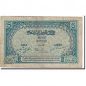 Banknote, Morocco, 5 Francs, 1924, Undated, KM:9, VF(20-25)