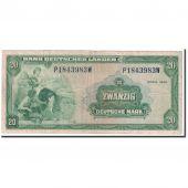 Billet, République fédérale allemande, 20 Deutsche Mark, 1949, 1949-08-22