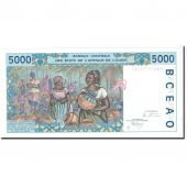 Banknote, West African States, 5000 Francs, 1994, Undated, KM:213Bc, UNC(65-70)