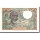 Banknote, West African States, 1000 Francs, 1961, 1961-03-20, KM:103Ac