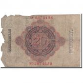 Banknote, Germany, 20 Mark, 1914, 1914-02-19, KM:46b, VG(8-10)