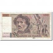 France, 100 Francs, 1993, TB+, Fayette:69bis 8c, KM:154g