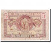 France, 5 Francs, 1947, VG(8-10), Fayette:VF29.1, KM:M6a