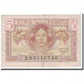 France, 5 Francs, 1947, VF(20-25), Fayette:VF29.1, KM:M6a