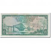 Billet, Scotland, 1 Pound, 1966, 1966-01-04, KM:269a, TB