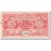 Banknote, Indonesia, 25 Rupiah, 1947, 1947-12-15, KM:S124a, VF(30-35)