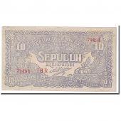 Banknote, Indonesia, 10 Rupiah, 1948, 1948-01-01, KM:S190c, EF(40-45)
