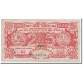 Banknote, Indonesia, 25 Rupiah, 1947, 1947-12-15, KM:S124a, EF(40-45)