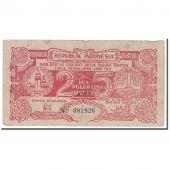 Billet, Indonésie, 25 Rupiah, 1947, 1947-12-15, KM:S124a, TB+